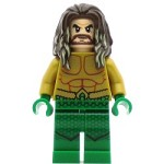 LEGO Super Heroes Minifigure Aquaman - Green Hands and Legs