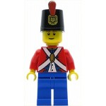 LEGO Minifigure Imperial Soldier II Shako Hat Decorated Blue Legs Male (9349)