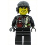 LEGO Dino Attack Minifigure Digger Rope Torso Black Arms