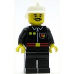 LEGO Town Minifigure Fire Flame Badge and 2 Buttons