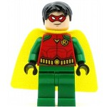 LEGO Super Heroes Minifigure Robin Red Mask Juniors Cape
