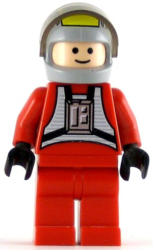 LEGO Star Wars Minifigure Rebel Pilot B-wing