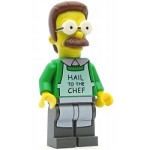 LEGO The Simpsons Minifigure Ned Flanders
