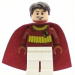 LEGO Minifigure Oliver Wood Dark Red Quidditch Uniform