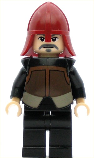 LEGO Avatar Minifigure Fire Nation Soldier