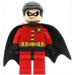 LEGO Super Heroes Minifigure Robin Black Cape