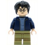 LEGO Harry Potter Minifigure Harry Potter Dark Blue Jacket