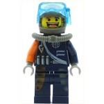 LEGO Alpha Team Minifigure Flex Mission Deep Sea