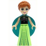 LEGO Disney Princess Minifigure Anna - Dark Turquoise Cape (41147)