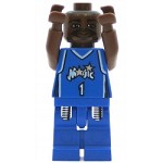 LEGO Sports Minifigure NBA Tracy McGrady Orlando Magic #1 Road Uniform