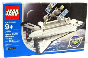 LEGO 7470 Discovery Space Shuttle Discovery-STS-31