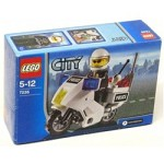 LEGO 7235 City Police Motorcycle