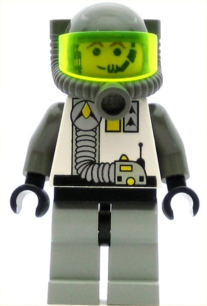 LEGO Space Minifigure Explorien with Breathing Apparatus