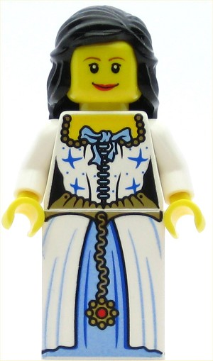LEGO Pirates Minifigure Admiral's Daughter (Maiden)