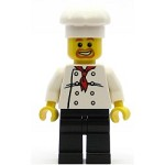 LEGO Town Minifigure Chef White Torso with 8 Buttons