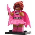 LEGO Collectible Minifigures The Batman Movie Pink Power Batgirl