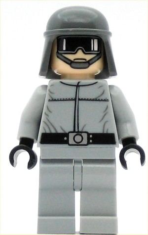 LEGO Star Wars Minifigure Imperial AT-ST Pilot