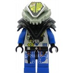 LEGO Minifigure UFO Alien Blue