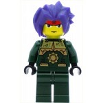 LEGO Exo-Force Minifigure Ryo Dark Green Outfit
