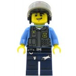 LEGO Town Minifigure Police Motorcycle Officer
