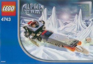 LEGO 4743 Alpha Team Ice Blade