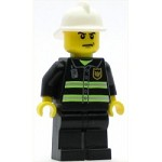 LEGO Town Minifigure Fire Reflective Stripes