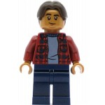 LEGO Super Heroes Minifigure Ned Leeds - Red Plaid Shirt