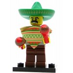 LEGO Collectible Minifigures Series 2 Mariachi Maraca Man