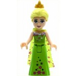 LEGO Disney Princess Minifigure Elsa Lime Dress