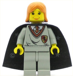 LEGO Harry Potter Minifigure Ginny Gryffindor Shield
