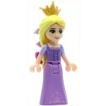 LEGO Disney Princess Minifigure Rapunzel with Bows and Tiara