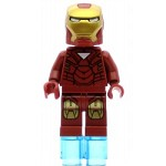 LEGO Super Heroes Minifigure Iron Man Triangle on Chest