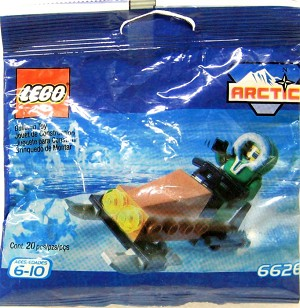 LEGO 6626 Town Snow Scooter