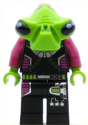 LEGO Space Minifigure Invader Pilot
