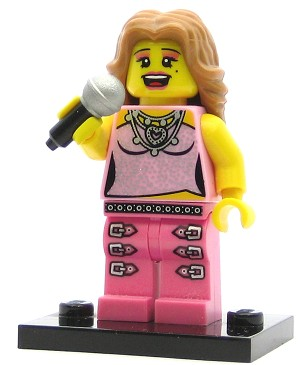 LEGO Collectible Minifigures Series 2 Pop Star