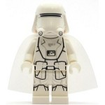 LEGO Star Wars Minifigure First Order Snowtrooper with Cape