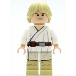 LEGO Star Wars Minifigure Luke Skywalker Tatooine Smiling