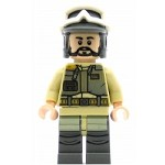 LEGO Star Wars Minifigure Rebel Trooper, Black Beard (75164)