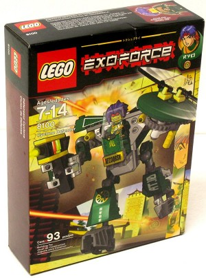 LEGO 8100 Exo-Force Cyclone Defender