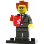 LEGO Collectible Minifigures The Movie President Business