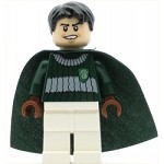 LEGO Harry Potter Minifigure Marcus Flint Dark Green and White Quidditch Uniform