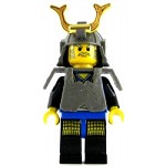 LEGO Ninja Minifigure Shogun Blue with Armor