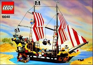 LEGO 10040 Pirates Black Seas Barracuda