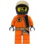 LEGO Agents Minifigure Gold Tooth Helmet