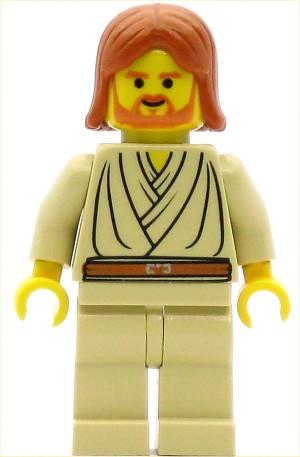 LEGO Star Wars Minifigure Obi-Wan Kenobi Young