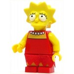 LEGO The Simpsons Minifigure Lisa Simpson