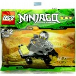 LEGO 30087 Ninjago {Black ninja in car}
