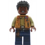 LEGO Star Wars Minifigure Finn in Dark Flesh Jacket
