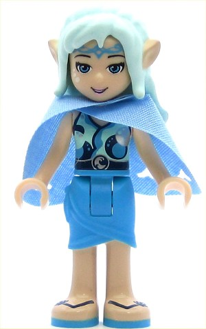 LEGO Elves Minifigure Naida Riverheart with Cape