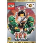 LEGO 3346 Castle Three Minifigure Pack - Ninja #3